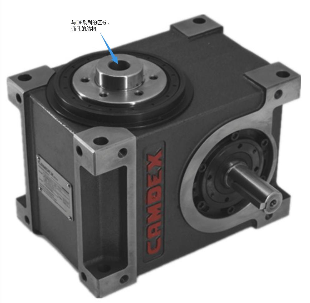 照片分割器_80DFH中空法兰型分割器_凸轮分割器使用_分割器应用-利安印