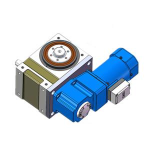 凸缘型分割器配套水平式直连,分割器电机