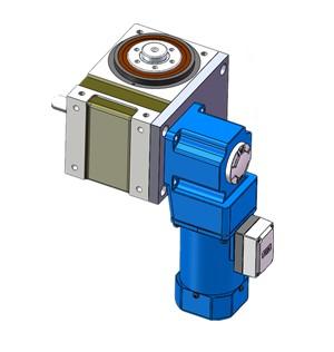 凸缘型分割器电机垂直连接方式,分割器电机安装
