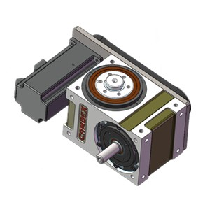 凸缘型分割器配套水平同步轮传动,分割器电机选型